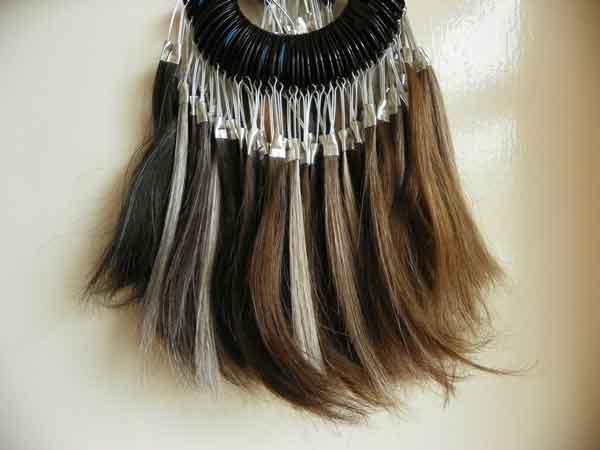 اکستنشن برای موها جهت تغییر تنوع در مو